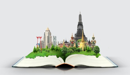bangkok: book of thailand Stock Photo