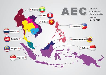 southeast asia: ASEAN Economic Community, AEC