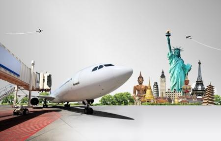 transportation: Travel the world Stock Photo