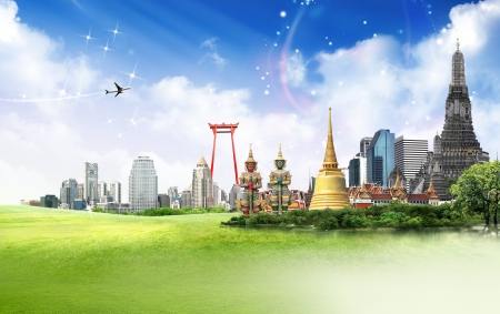 Thailand travel concept Stock Photo - 18488335