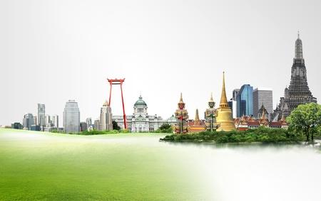 bangkok temple: Thailand travel concept