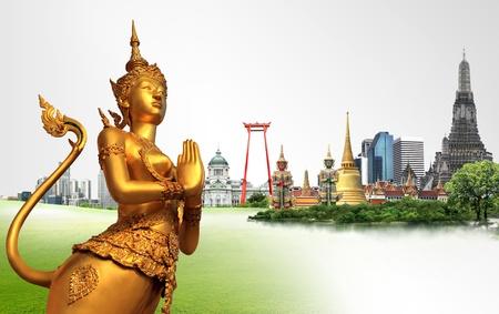 thai arts: Thailand travel concept