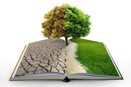 knowledge: Buch der Natur Lizenzfreie Bilder