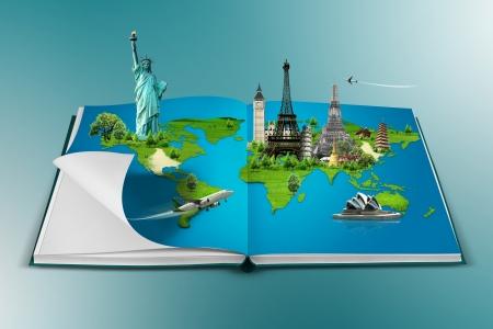mapa europa: Libro de viajes