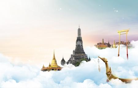 태국 여행 개념 스톡 콘텐츠