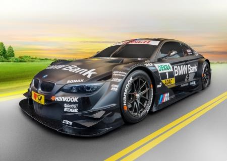 sport car BMW at sunrise, concept Imagens - 23105545