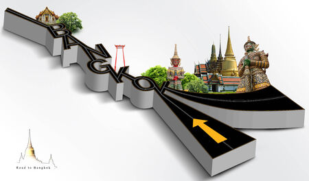 grand palace: road to bangkok, concept