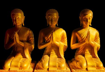 Buddha statue, Bangkok Thailand photo