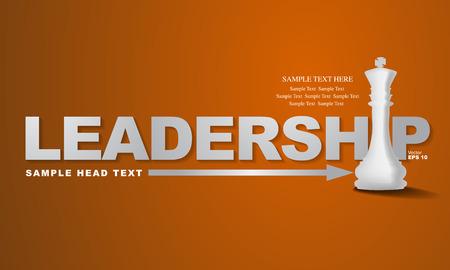 leadership development: Leadership concept