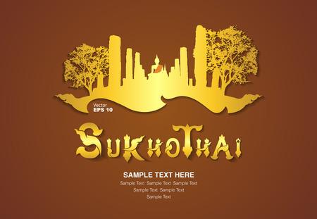 thailand ontwerp, vector illustration