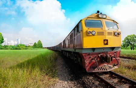 Cargo train photo