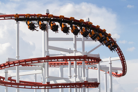 Roller Coaster loops in the sky
