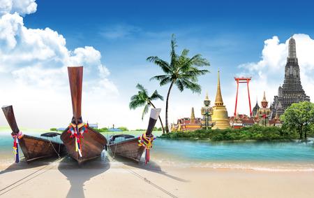 Thailand travel concept