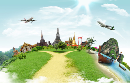 thai decor: Travel concept, thailand