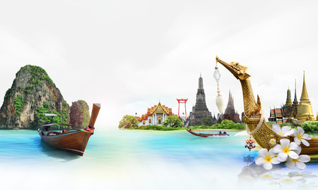 thailand art: thailand, concept Stock Photo