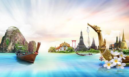 thailand, concept Standard-Bild