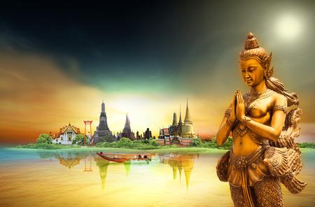 Bangkok, Konzept Standard-Bild - 37351275