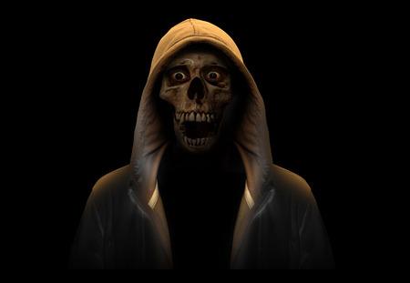 portrait of a skull photo