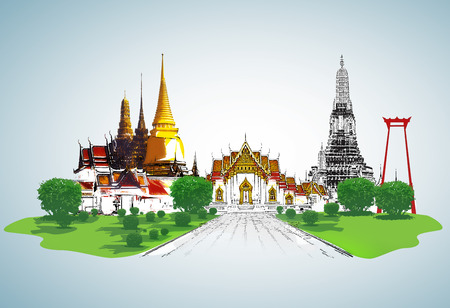 thai culture: Thailand travel concept