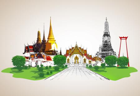 thailand culture: Thailand travel concept