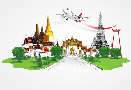 Thailand travel concept Imagens - 45491266