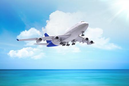 Flugzeug-Konzept