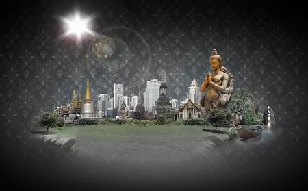 thai art: thailand concept