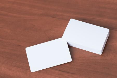 Business card mock up.