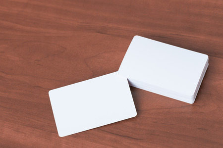 rounded circular: Business card mock up.