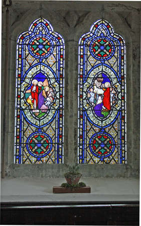 stained glass window photo