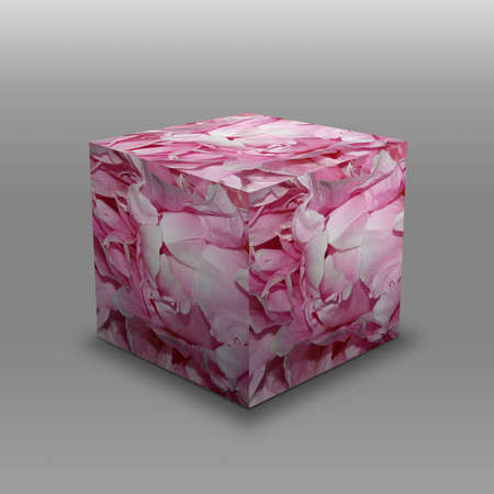 Pink flower cube stock photo picture and royalty free image image pink flower cube stock photo 17099025 mightylinksfo