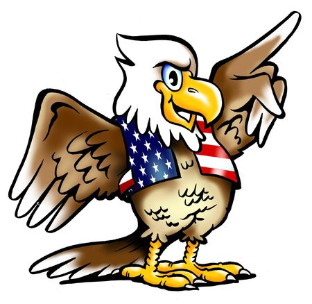 proud: Proud National Eagle from USA