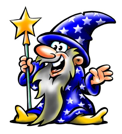 Clever oude Wizard