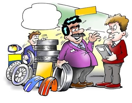 Smart tire seller  photo