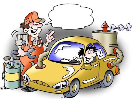 Alternative fuel engine for Cars