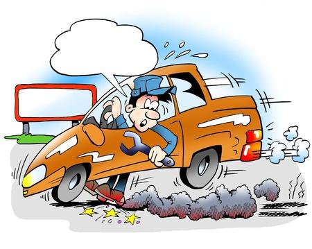 freins: Essais de frein