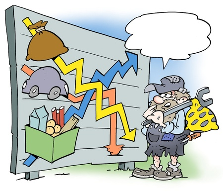 A mechanic looking at wages and purchasing power