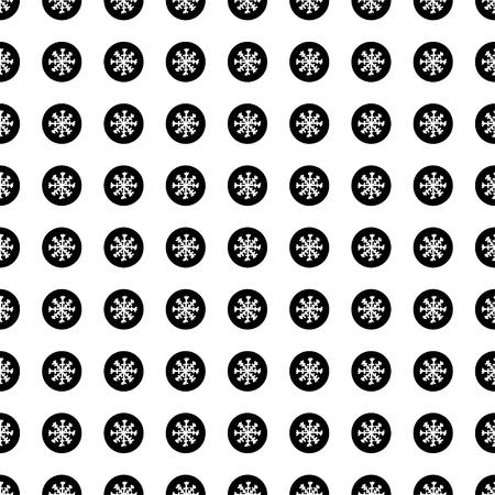 christmas seamless pattern: Christmas seamless pattern with snowflakes