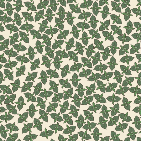 Seamless background   pattern with mint leaves Stock Photo