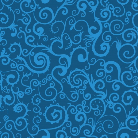 Seamless swirl pattern background photo