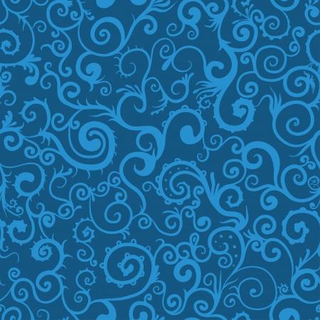allegoric: Seamless swirl pattern background