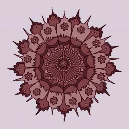 Beautiful rosette design background Stock Photo