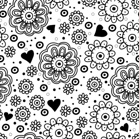 Seamless pattern can be used for textiles, wrapping paper, wallpaper, pattern fills, web page background, surface textures  Vector