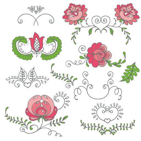 Seamless background with hand-drawn flowers. Pastel color palette. Endless floral pattern. Can be used for textile, wallpaper, surface design, backdrop, wrapping paper textures etc.