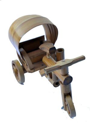 velocipede: Tricycle wood