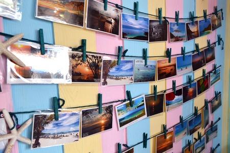postal card: postal card beach