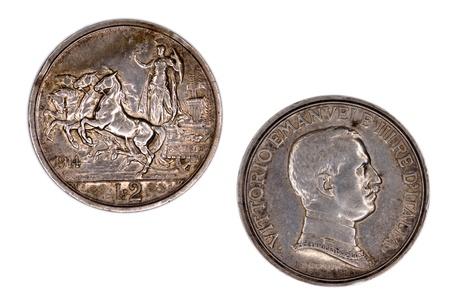 2 Lire Vittorio Emanuele III