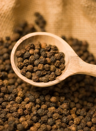 peppercorns Stock Photo