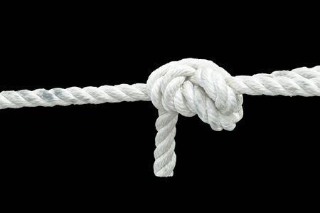torsion: Knot Stock Photo