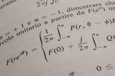 summation: mathematics Stock Photo